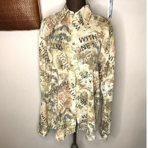Men's Pop Icon Shirt With Allover Print